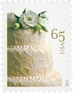 US Stamp Gallery >> Wedding Cake