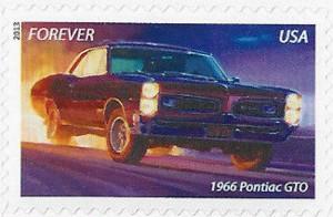 US Stamp Gallery >> 1966 Pontiac GTO