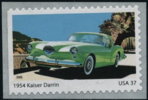 US Stamp Gallery >> 1954 Kaiser Darrin