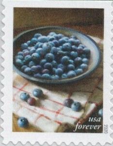 US Stamp Gallery >> Blueberries