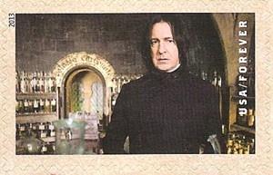 US Stamp Gallery >> Prof. Severus Snape