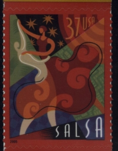US Stamp Gallery >> Salsa