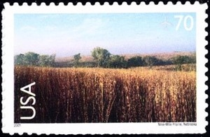 US Stamp Gallery >> Nine-Mile Prairie, NE