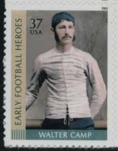 US Stamp Gallery >> Walter Camp
