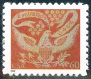 US Stamp Gallery >> Coverlet Eagle