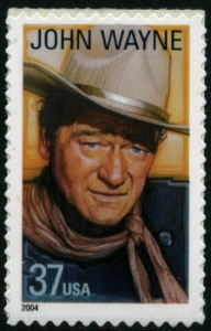 US Stamp Gallery >> John Wayne