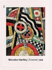 Painting, Number 5, by Marsden Hartley
