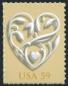 US Stamp Gallery >> Wedding Heart