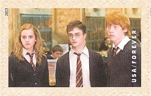 Hermione Granger, Harry Potter, and Ron Weasley