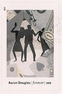 US Stamp Gallery >> The Prodigal Son, by Aaron Douglas