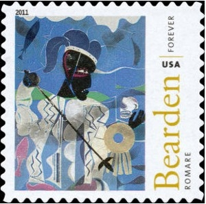 US Stamp Gallery >> Romare Bearden