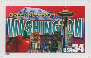 US Stamp Gallery >> Washington