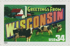 US Stamp Gallery >> Wisconsin