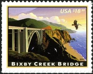 US Stamp Gallery >> Bixby Creek Bridge
