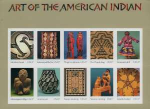 US Stamp Gallery >> Art of the American Indian