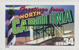 US Stamp Gallery >> North Carolina