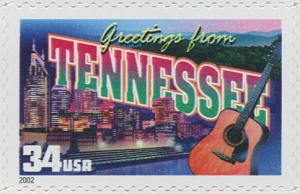 US Stamp Gallery >> Tennessee