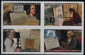 US Stamp Gallery >> Benjamin Franklin