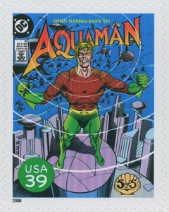 US Stamp Gallery >> Cover of Aquaman #5