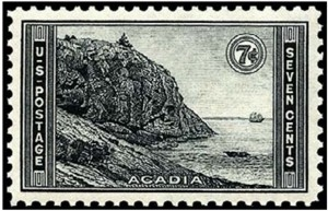 US Stamp Gallery >> Acadia National Park