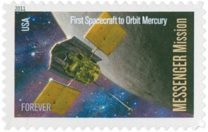US Stamp Gallery >> MESSENGER Mission