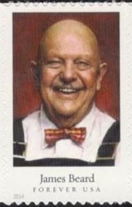 US Stamp Gallery >> James Beard