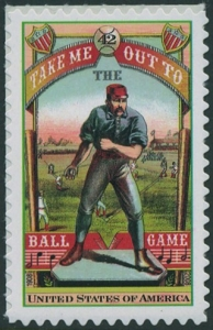US Stamp Gallery >> Take Me Out to the Ball Game