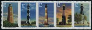 US Stamp Gallery >> Southeastern lighthouses
