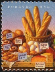 US Stamp Gallery >> Farmers' Markets