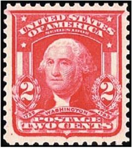 US Stamp Gallery >> George Washington