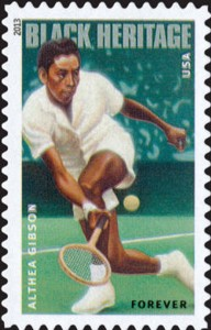 US Stamp Gallery >> Althea Gibson