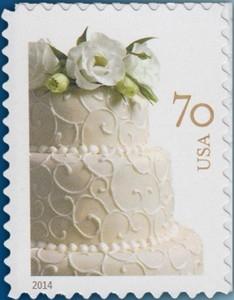US Stamp Gallery >> Wedding Cake