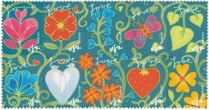 US Stamp Gallery >> Garden of Love