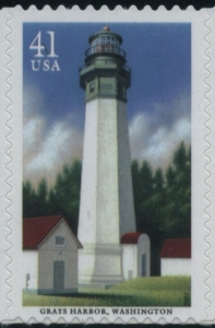 US Stamp Gallery >> Grays Harbor Lighthouse, Washington
