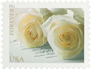 US Stamp Gallery >> Wedding Roses