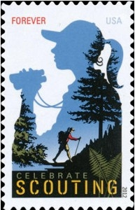 US Stamp Gallery >> Celebrate Scouting