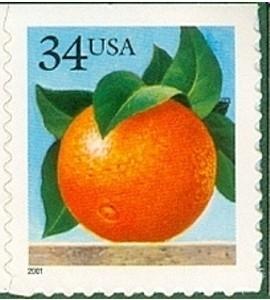 US Stamp Gallery >> Orange