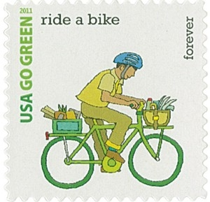 US Stamp Gallery >> Ride a Bike