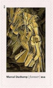 Nude Descending a Staircase, No. 2, by Marcel Duchamp