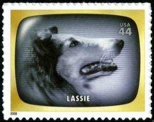 US Stamp Gallery >> Lassie