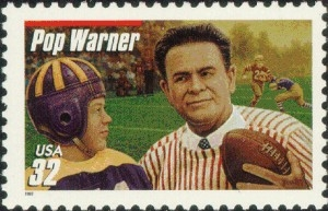 US Stamp Gallery >> Pop Warner