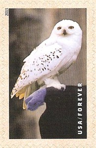 US Stamp Gallery >> Hedwig the Owl