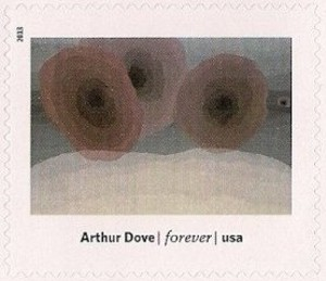 US Stamp Gallery >> Foghorns, by Arthur Dove