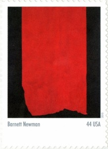 US Stamp Gallery >> Achilles, by Barnett Newman