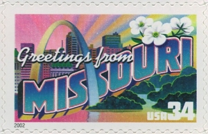 US Stamp Gallery >> Missouri