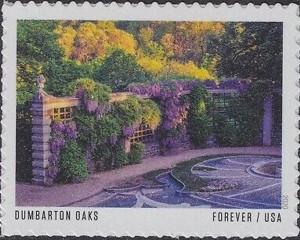 US Stamp Gallery >> Dumbarton Oaks