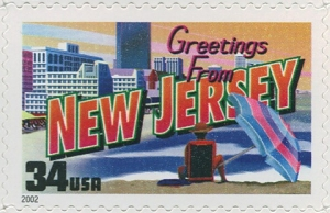 US Stamp Gallery >> New Jersey