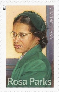 US Stamp Gallery >> Rosa Parks