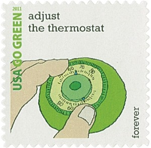 US Stamp Gallery >> Adjust the Thermostat