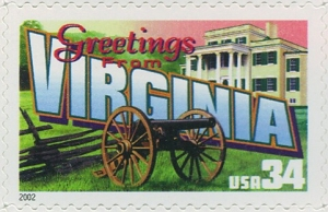 www.usstampgallery.com >> US Postage Stamp >> Virginia